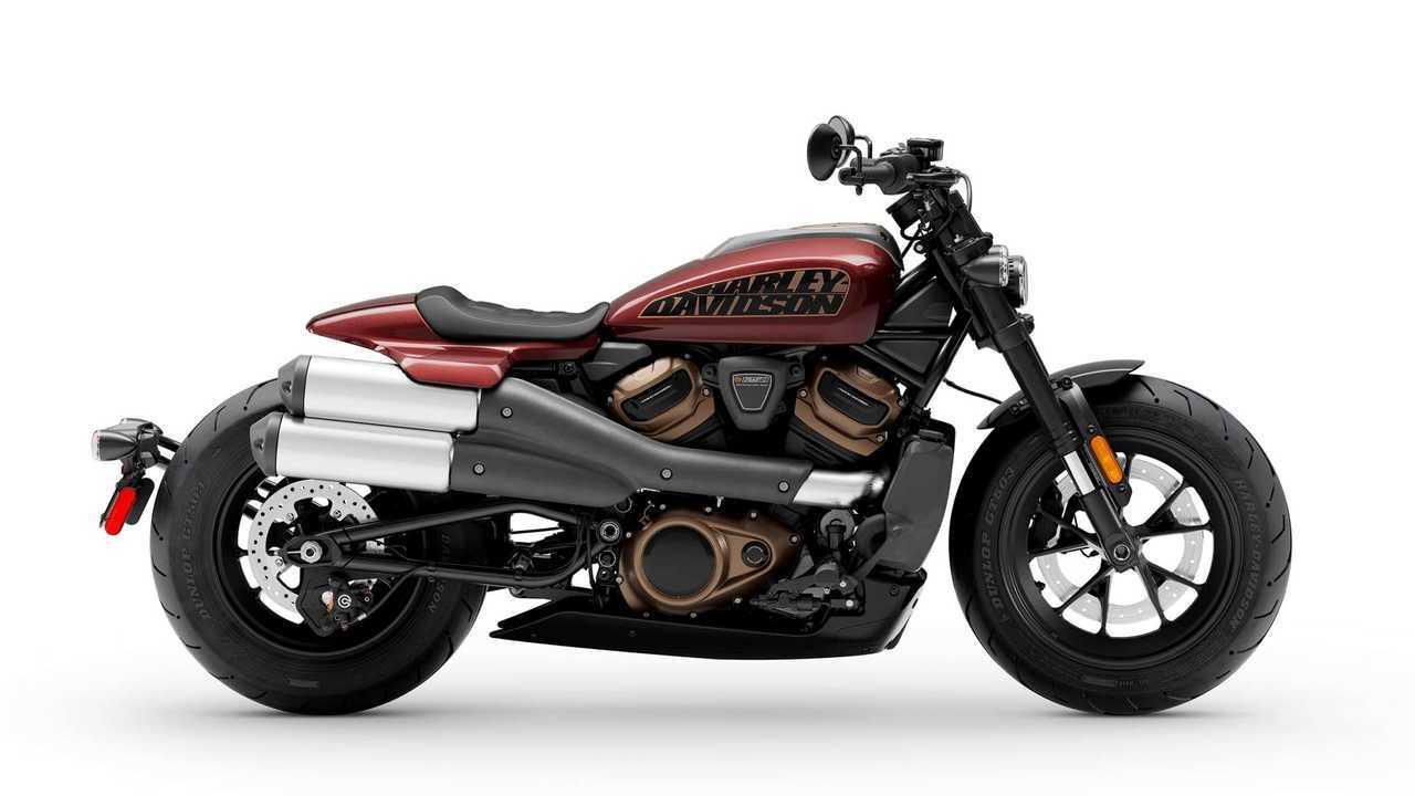 2021 Harley-Davidson-Sportster S - Side, Right