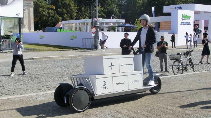 Polestar Re:Move: Dreirädriges Elektro-Mofa für Lasten