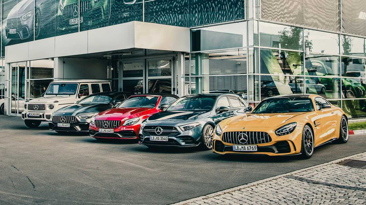 Mercedes reducing the number of AMG model