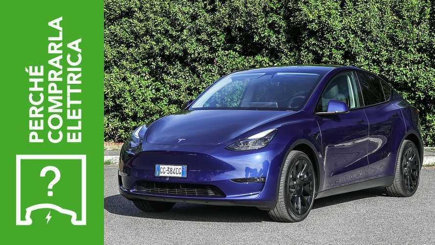 Tesla Model Y (2021), perché comprarla elettrica e perché no