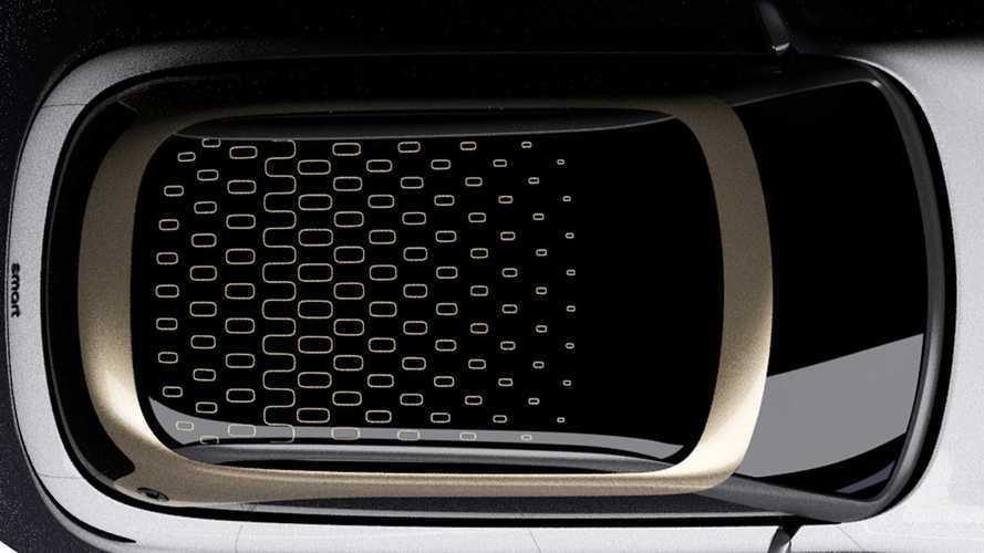 Smart Elektro-SUV: Neues Teaser-Bild – aus der Vogelperspektive