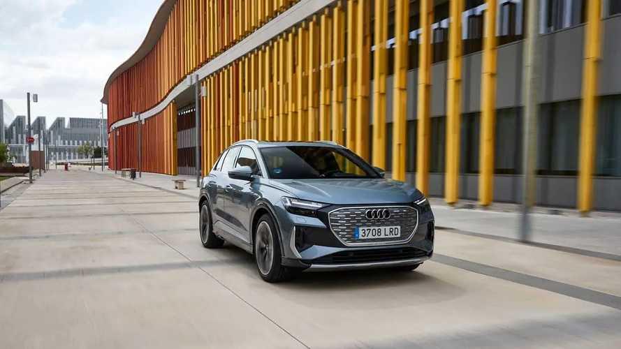 Prueba Audi Q4 40 e-tron 2021
