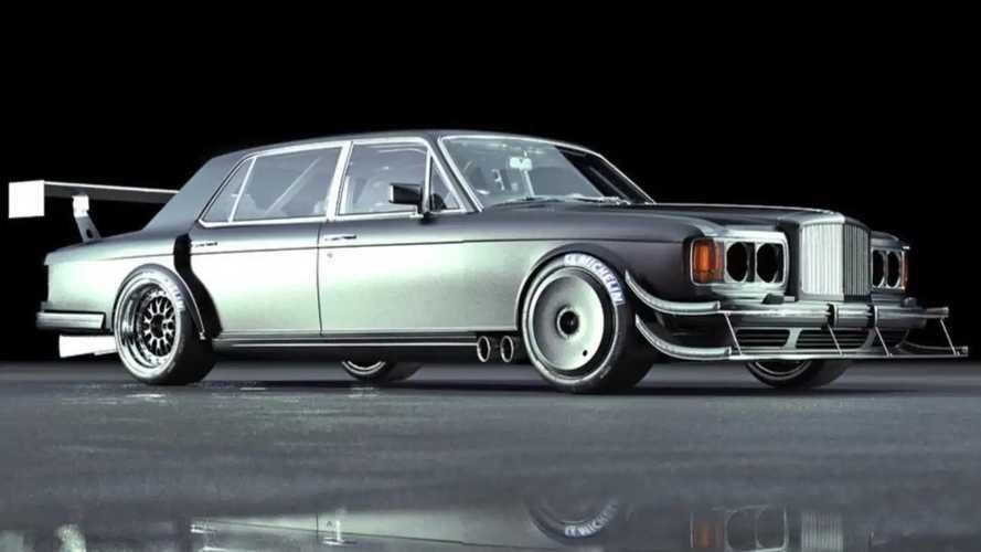 А что, если бы Bentley решила покорить Пайкс-Пик в 1980-х?