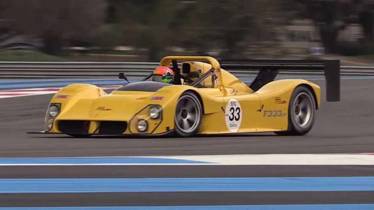 Ferrari SP 333 Monza videó