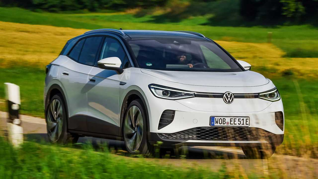 Der VW ID.4 Pro Performance Max in