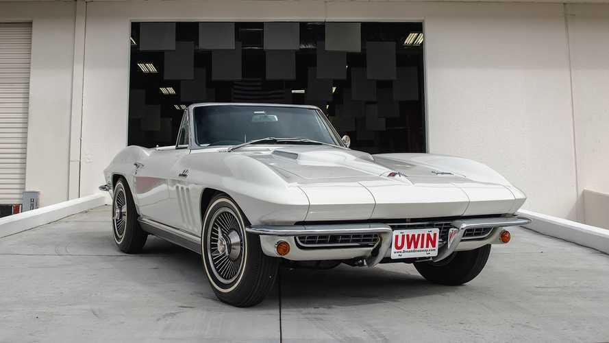 Last Chance To Win This 1966 Corvette Convertible Plus $30K Cash