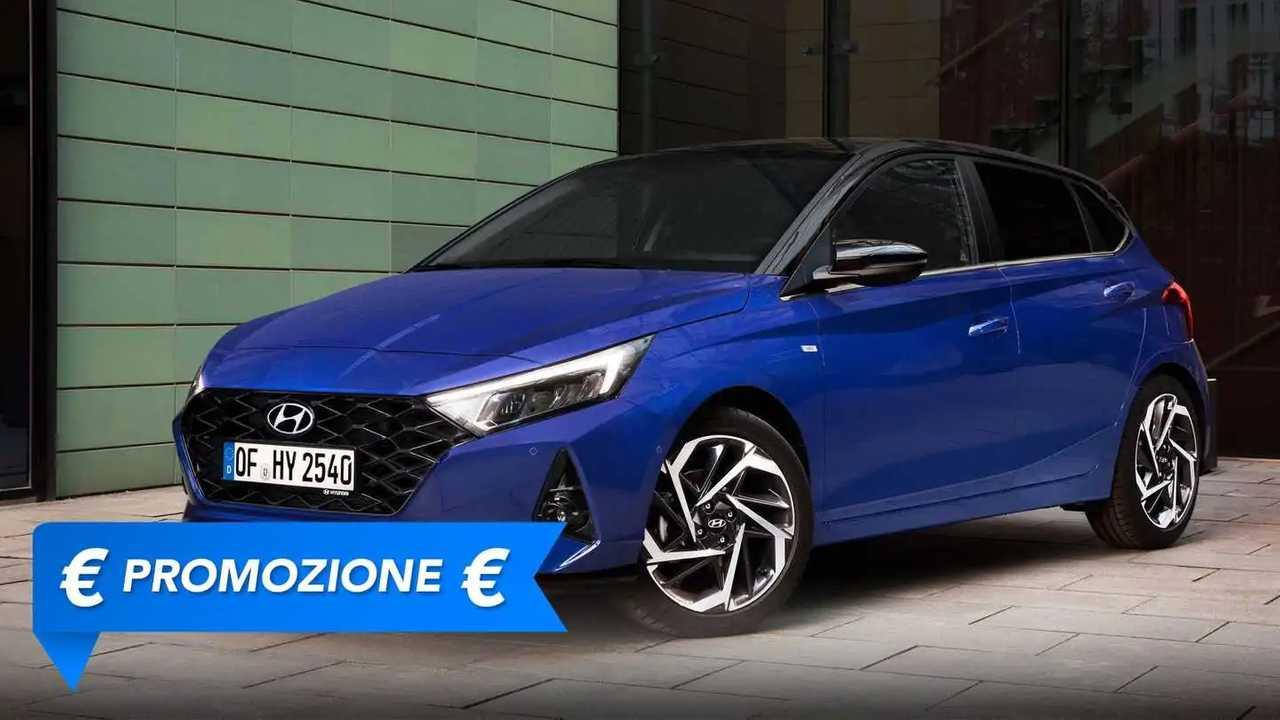 Promozione Hyundai i20 ibrida