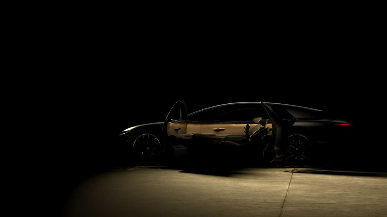 Audi rilis teaser Grand Sphere Concept.