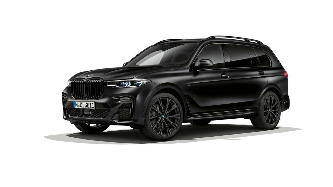 BMW X7 Vermillon noir