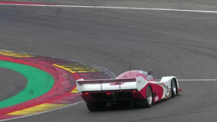 Accidente del Porsche 962C en Spa-Francorchamps