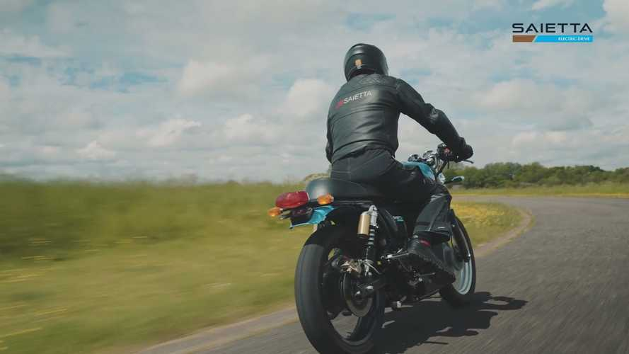 Royal Enfield Continental GT 650 Goes Electric Thanks To Saietta
