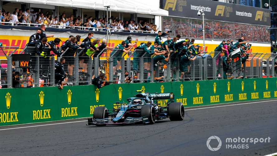 Aston Martin confirms F1 appeal on Vettel's Hungarian GP DQ