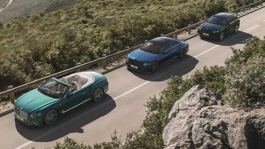 Bentley brings bespoke-styled, limited-run Continental, Bentayga to US