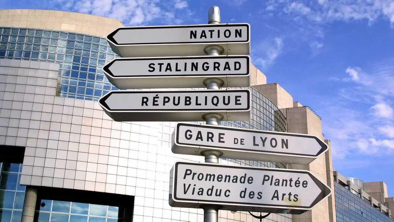 Panneaux de signalisation Paris