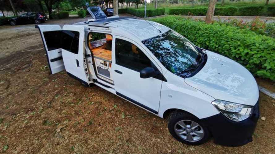 Dacia Dokker camper by Yevana