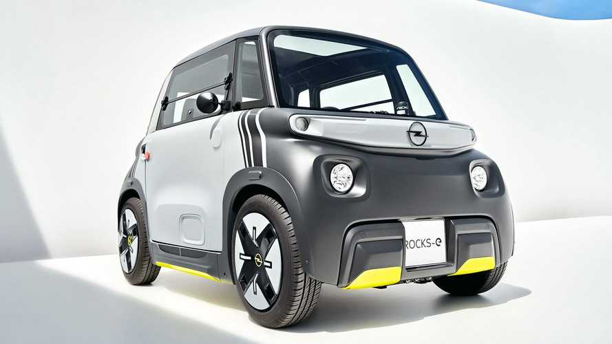 Opel Rocks-e, el pequeño eléctrico para la ciudad