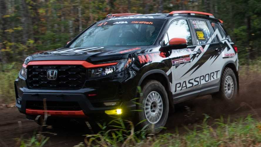 2022 Honda Passport Arrives To Go Rallying In The US