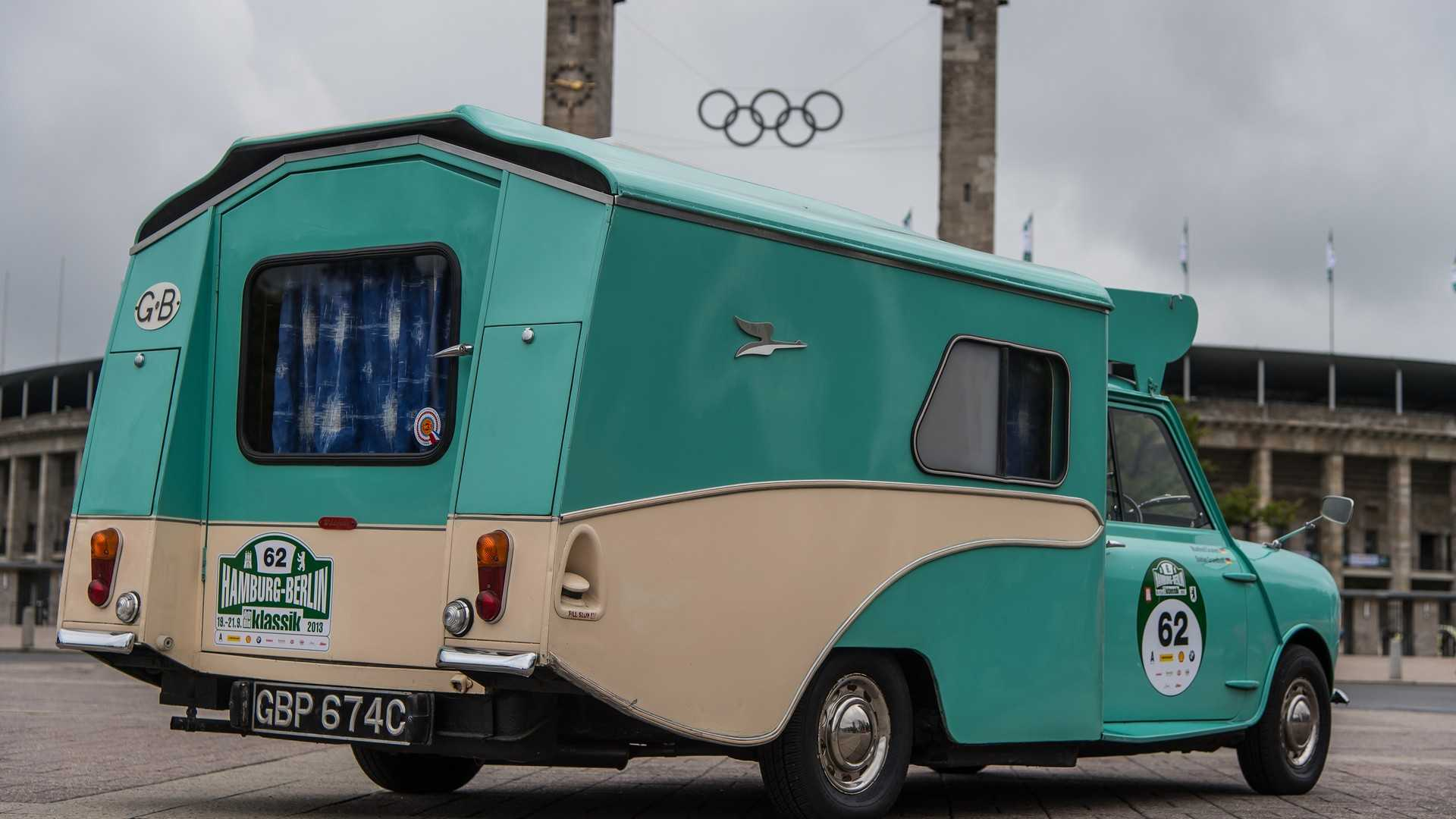 Remember The Mini Based Motorhome Called The Wildgoose