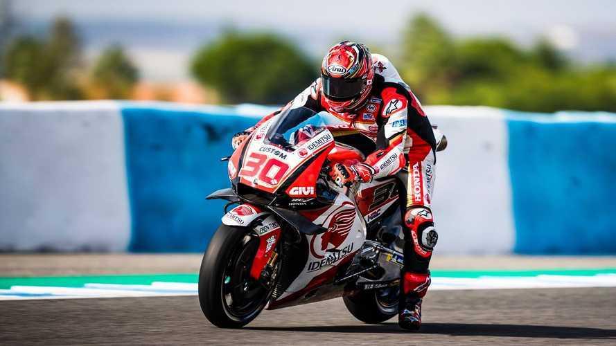 Nakagami da la sorpresa en el último día de MotoGP de 2018