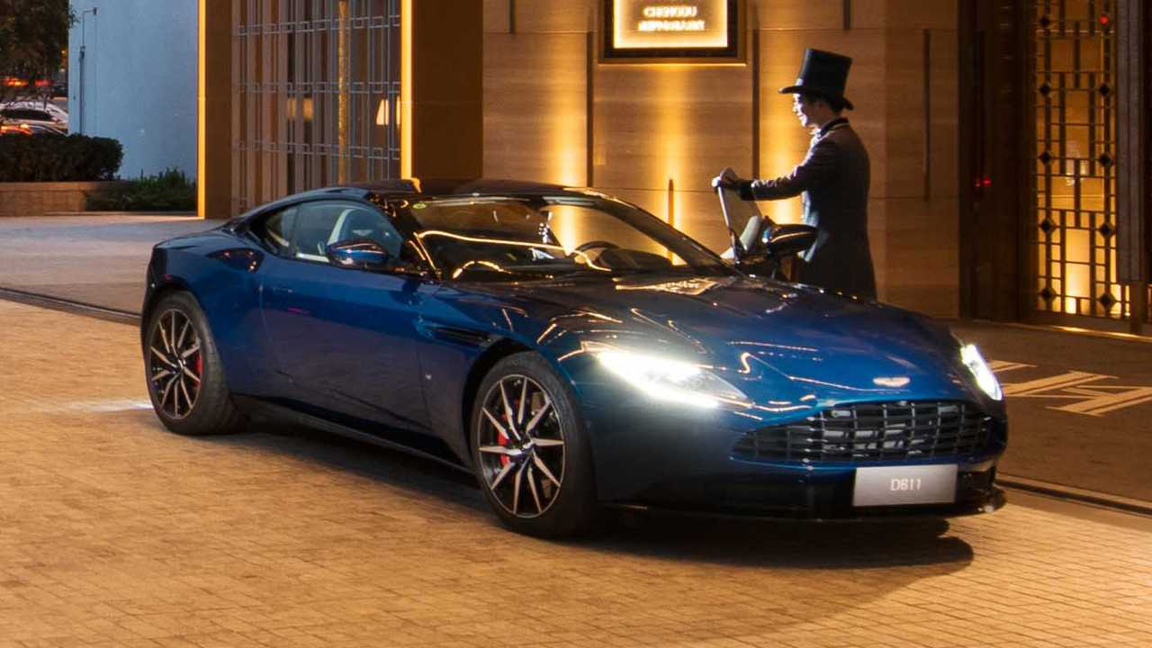 Aston Martin and Waldorf Astoria
