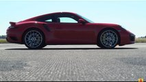 Porsche Panamera Drag Races 911 Turbo S