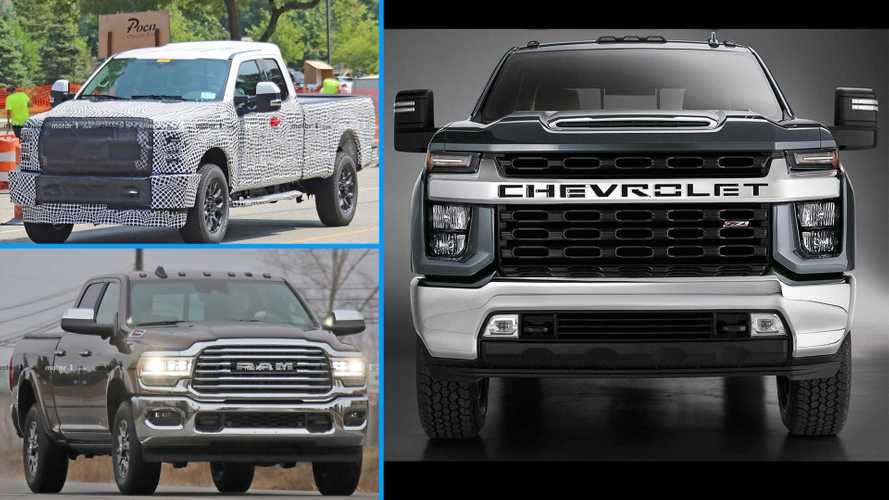 2020 Chevrolet Silverado HD Versus The Competition