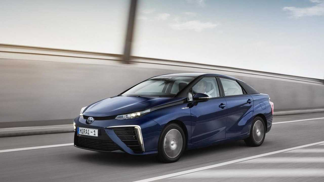 8. Toyota Mirai: 1,700 units