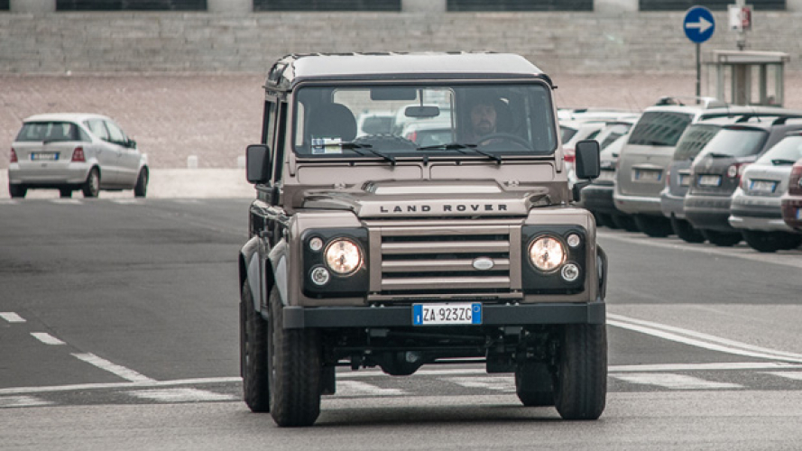 Land Rover Defender, urban test