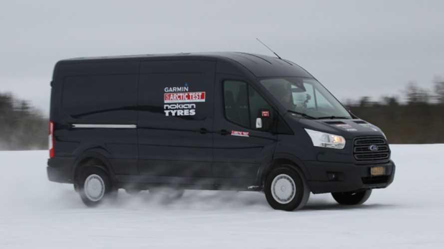 Ford sbanca l'Artic Van Challenge