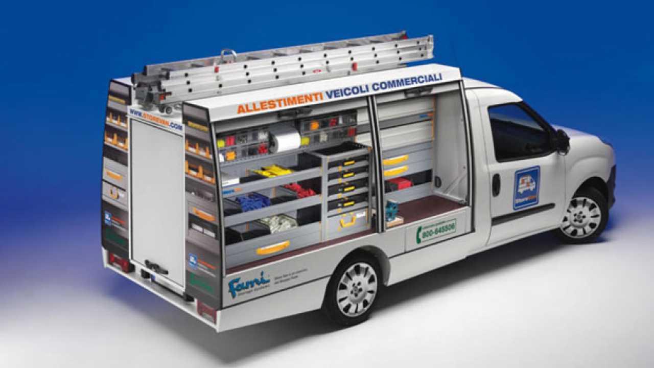 Cellula Modulare Store Van