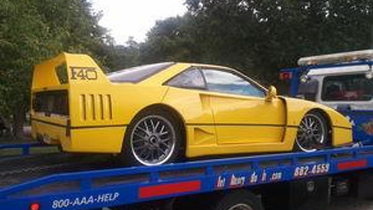 Up On Ebay 1987 Pontiac Fiero Disguised As A Ferrari F40