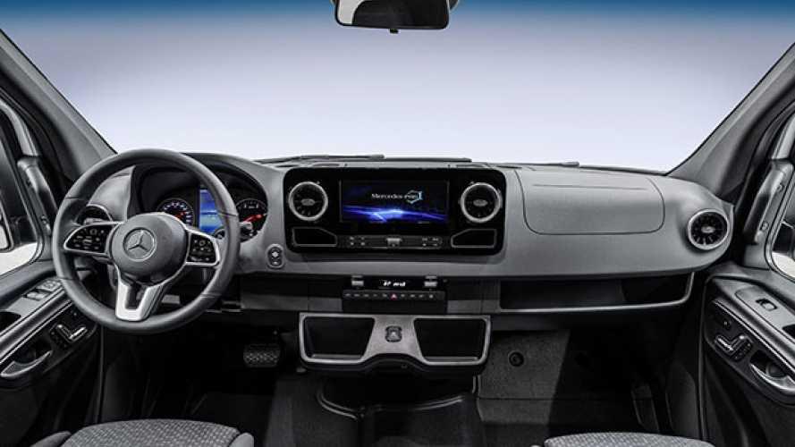 Mercedes, il nuovo Sprinter e la logistica del futuro