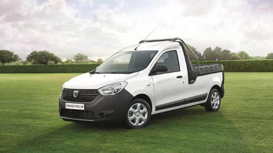 Dacia presenta il Dokker pick-up, un cassonato made in Italy