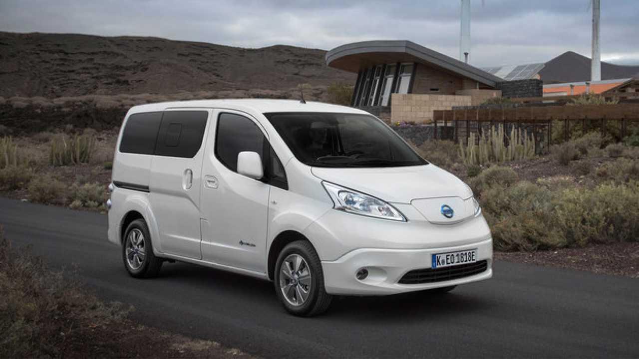 Nissan e-NV200 Evalia, carica quanto prima, ma fa più km