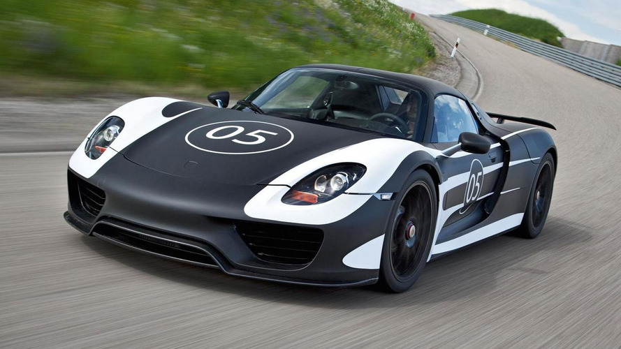 Porsche preparing Race Track package for 918 Spyder - report