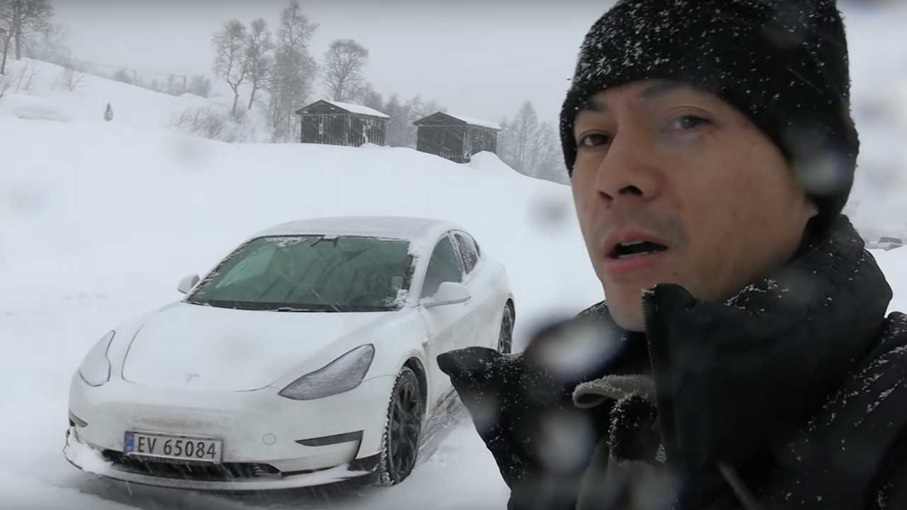 Tesla Model 3 Is Surprisingly Good To Camp In, Even In Winter