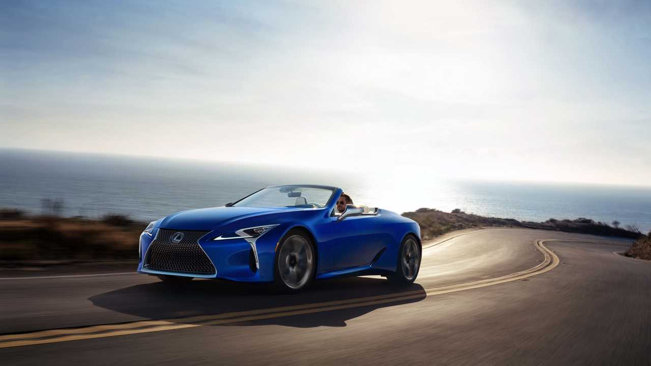 One-Off Lexus LC500 Covertible To Be Auctioned Off For Charity