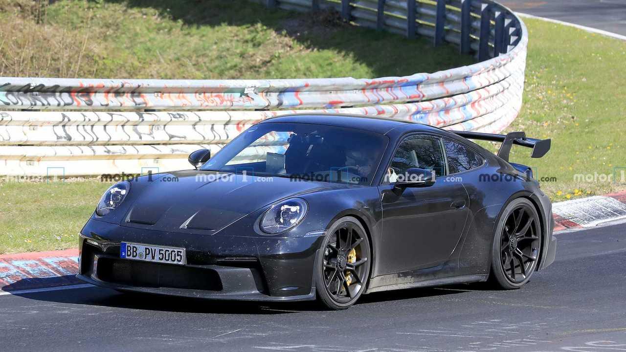 Porsche 911 GT3 Spy Photos