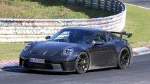 porsche 911 gt3 foto spia nurburgring