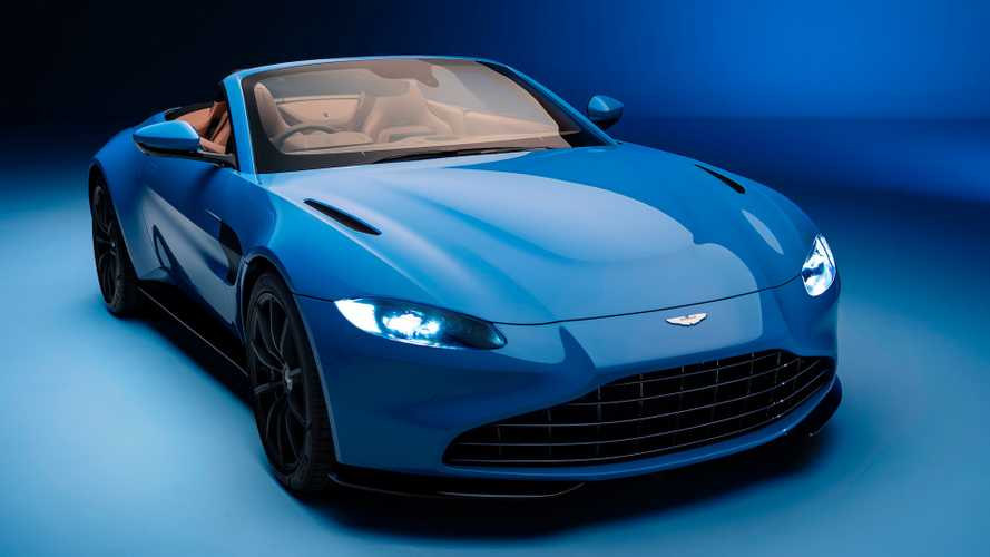 2021 Aston Martin Vantage Roadster has world's fastest convertible roof