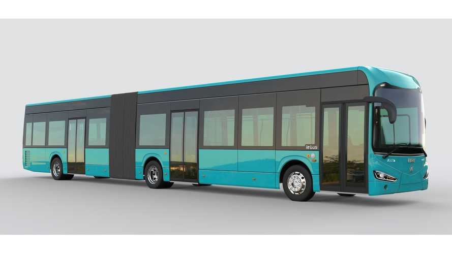 Irizar Breaks Into German EV Bus Market With Articulated ie