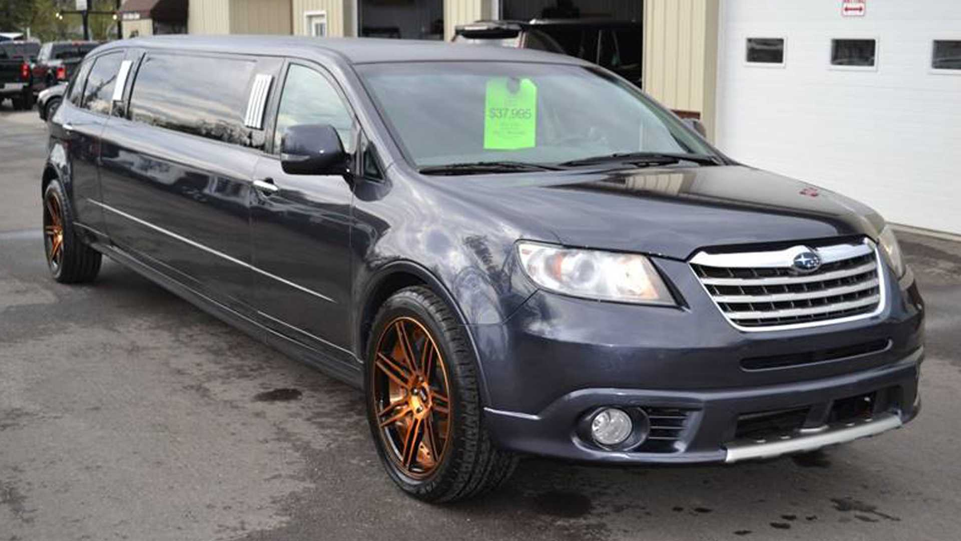 Buy This Bonkers Subaru Tribeca Limo, Become An Affluent Rally Fan