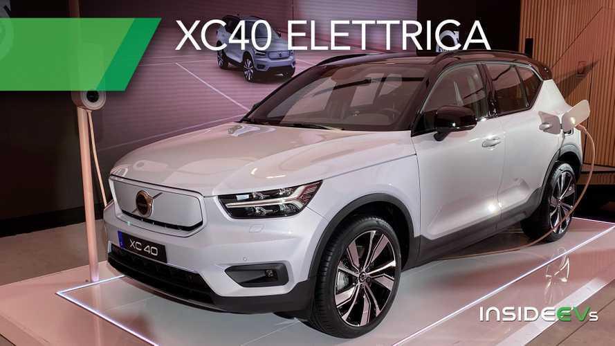 Volvo XC40 elettrica, oltre 400 km di autonomia da 59.600 euro