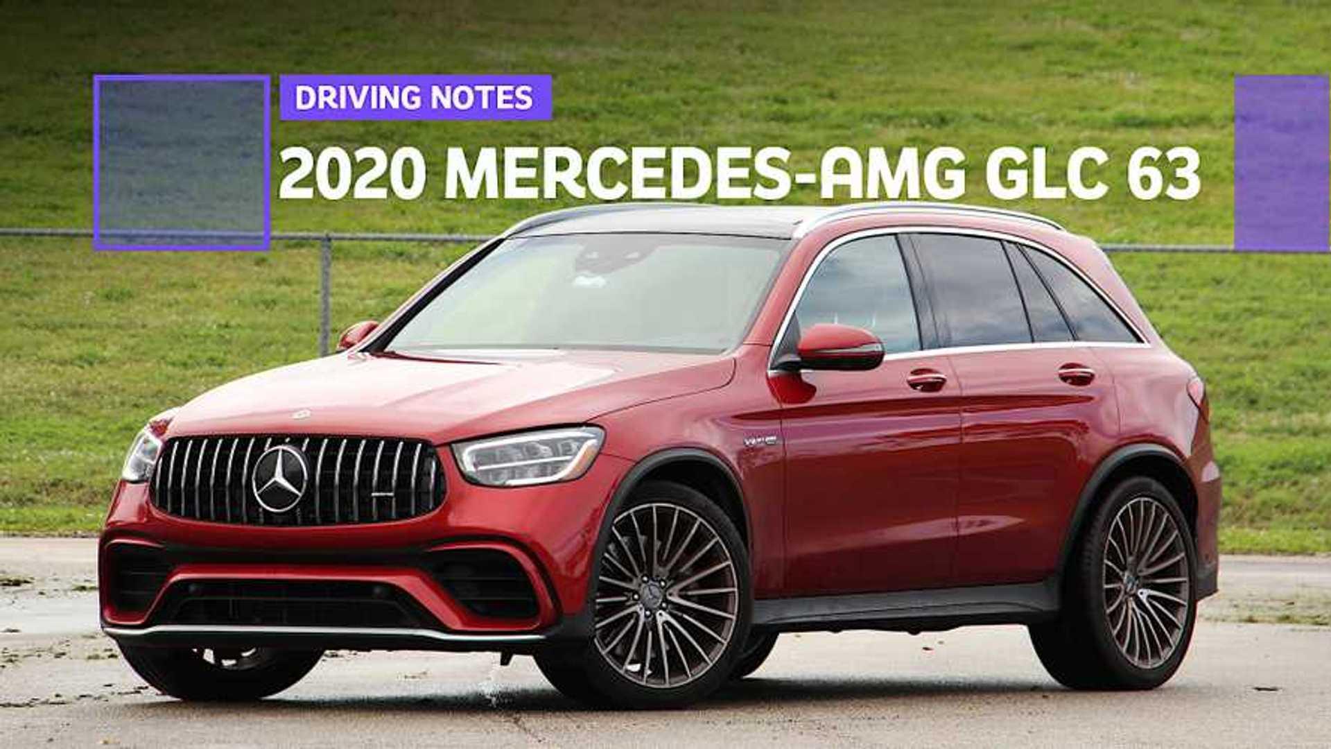 2020 Mercedes Amg Glc 63 Driving Notes Insane Uv