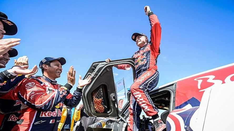 "Sainz: ""Es injusto que Toyota hable de la superioridad de los buggies"""