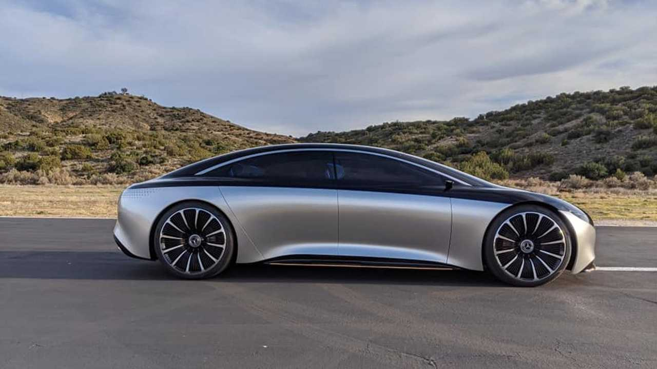 These Are The Four EVs Mercedes Is Bringing To The US By 2022