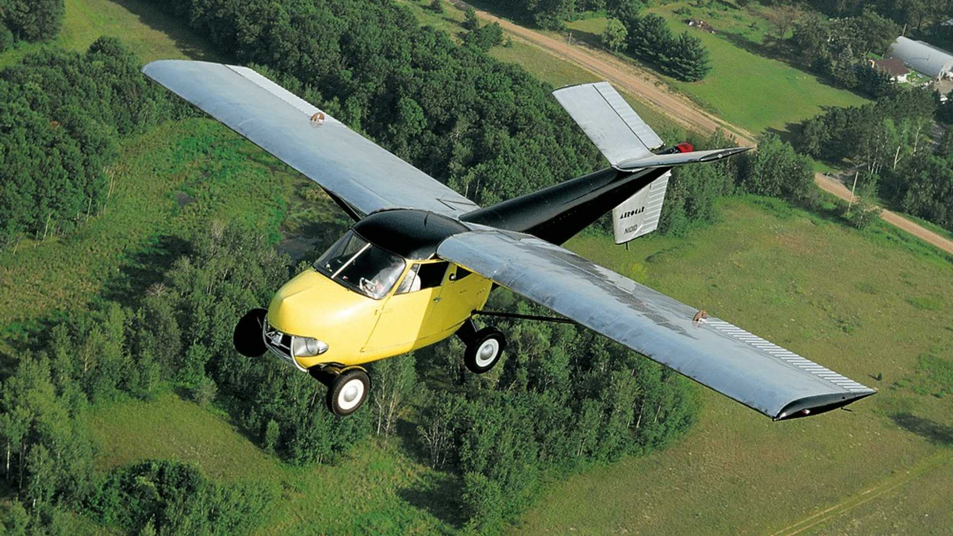 """[""""Take To The Skies In This 1954 Taylor Aerocar""""]"""