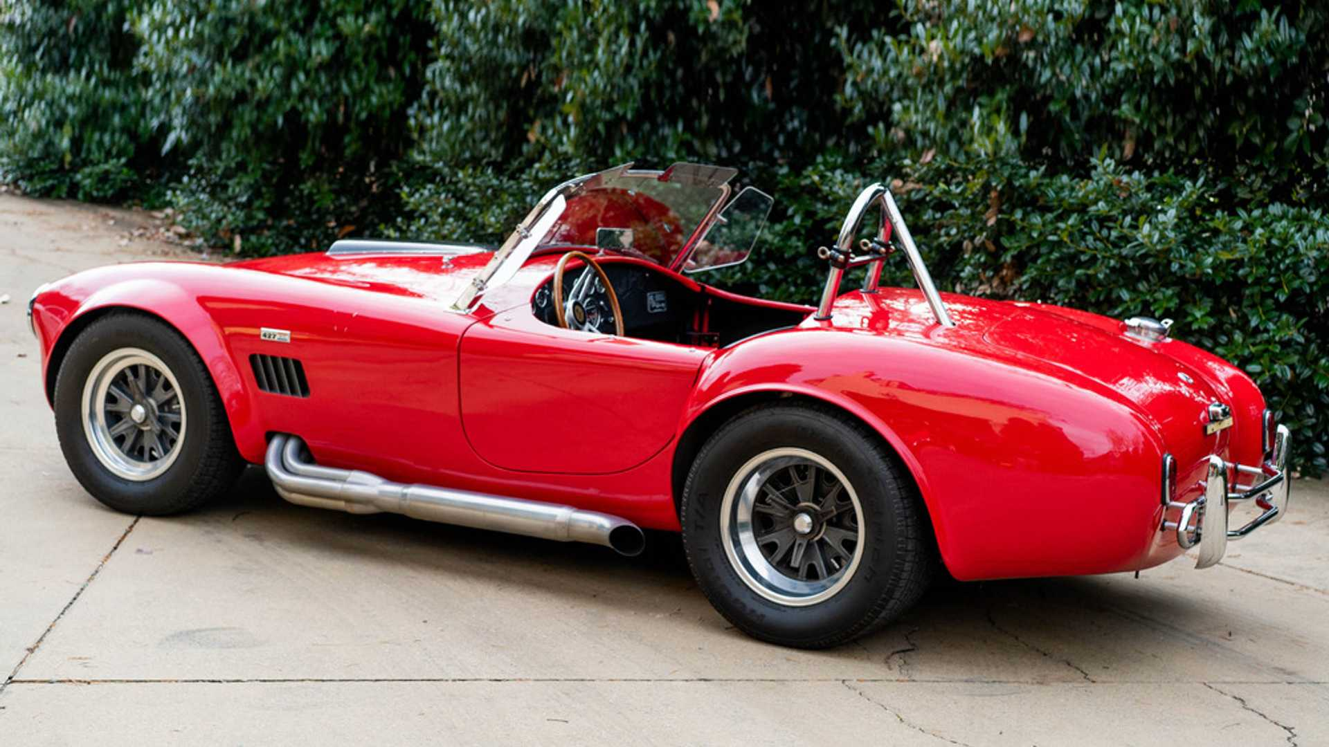 "[""1965 Shelby Cobra 4000 Roadster Heads To Auction""]"