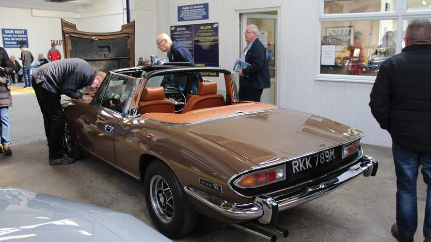 Market: £34k for Stag and £48k for rallied Jaguar Mk2 at ACA