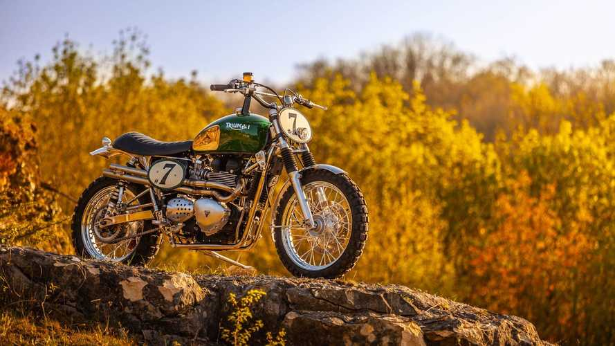 This Custom Triumph Is All Modern McQueen, All The Time